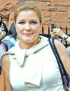 Kate Mulgrew after her final performance of Love, Loss & What I Wore 2010