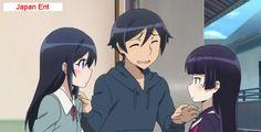 Oreimo S2 episode 11 Ayase and Kuroneko finally met!!