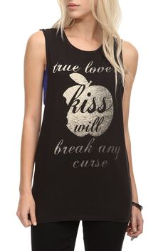 Once Upon A Time Apple Tank | True love's kiss will break any curse
