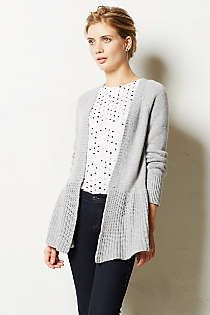 Anthropologie - Stitch-Wise Swing Cardigan