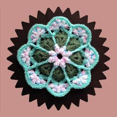 How to Crochet a Flower Pattern #35 │by ThePatterfamily