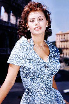 Sophia Loren, 1956.