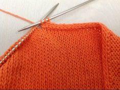 Декоративный и эластичный способ закрытия петель спицами ( полый шнур ) | Вязание: узоры спицами | Постила