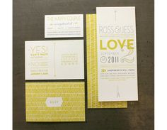 When Designers Wed design by the Ross Bruggink and Jessica Keintz and printed by Studio on fire