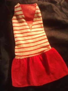 VINTAGE BARBIE DOLL CLOTHING. PHOTON$MART$, FREE SHIPPING, CUTE DRESS!