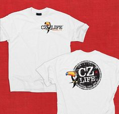 """CZ Life Toucan Tee // COMING SOON!!  If you have interest in this shirt visit us on Facebook and let us know that you want the """"Panama Presale"""" https://www.facebook.com/ZonianLife"""