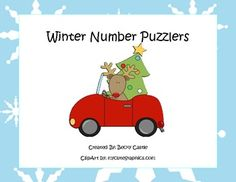 FREE Counting/Skip Counting Leveled Winter Number Puzzlers...If you vote/rate this product after download, you can have one free one dollar item from my store! Just leave your email with your rating, or message me it along with your item request. Thank you!