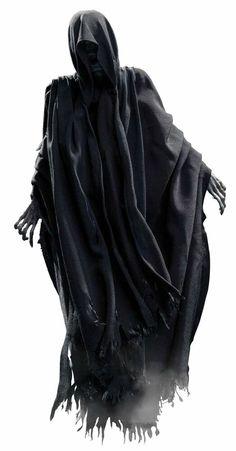 Harry Potter Dementors, Arte Do Harry Potter, Images Harry Potter, Harry Potter Universal, Dark Fantasy Art, Dark Art, Grim Reaper Art, Goblet Of Fire, Arte Obscura