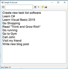 Learn how to make a Simple To Do List with this tutorial. You can even download the source code so you can edit it by yourself and make it even more advanced.