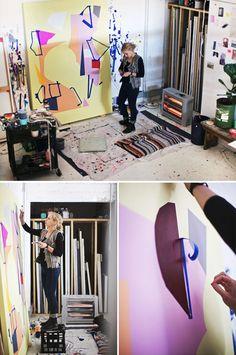 Kirra Jamison – Locomotor + Melbourne Art Fair | The Design Files