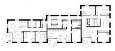 VETTER SCHMID Architekten | Wohnhaus-Kloten Floor Plans, Drawings, Gable Roof, Floor Layout, House Building, Human Settlement, Architects, New Construction, Detached House