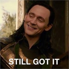 Thor: The Dark World Oh Loki you said you ever lost it :D