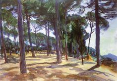 At Frascati John Singer Sargent - 1907