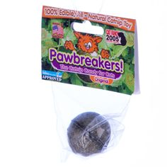 Pawbreakers!  Candy for cats! Fresh, USA-grown catnip. All natural and Made in America.