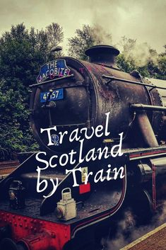 Scotland by train. All you have to know for your trip. How safe money and pass for travellers. England Ireland, England And Scotland, Scotland Travel, Ireland Travel, Ireland Places To Visit, Ireland With Kids, Train Vacations, Train Tour, Ways To Travel