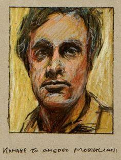 homage to Amedeo Modigliani