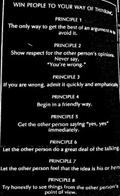 ...Dale Carnegie How to Win Friends and Influence People