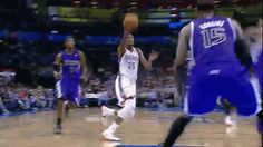 Russell Westbrook throws it down!