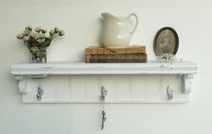New..Chic White Picket Fence.. French by cottagehomedecor on Etsy, $50.00