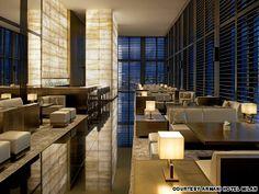 The Art Deco-themed Armani hotel in Milan.