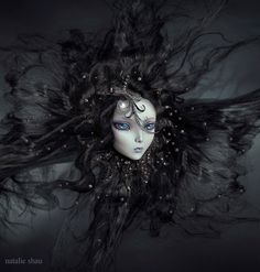 ghostly winds (2011) by Natalie Shau, via Behance