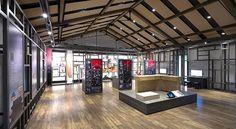 平城京復原事業情報館。横田くんが設計に携わるプロジェクト。