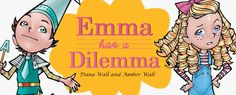 Emma Has A Dilemma! makes learning fun. The Emma Series was created specifically to take a subject like grammar and make the ins and outs of learning it something to look forward to; rather than something to avoid.  http://emmahasadilemma.com