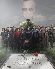 😭😭😭😭😭👋😭😭 he is true hero and legend who has made my childhood more beutiful, thanks for you works stan lee