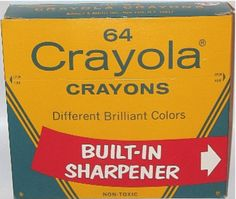 How could they ever change any of the colors!  Via The World According to Julie: Worshipping Crayola crayons