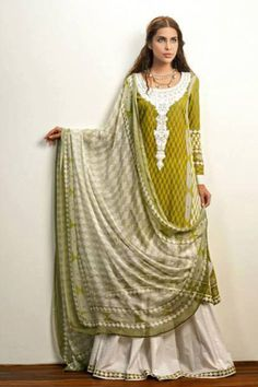 Zaheer Abbas Summer Lawn Collection 2013 by Shariq Textiles