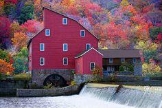 Clinton Mill, Raritan River, High Bridge, NJ.