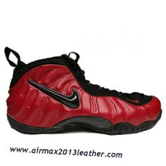 hot sale online 587f6 2319a Nike Air Foamposite pro Red Black Discount Black Jordans, Nike Air Jordans, Nike  Air