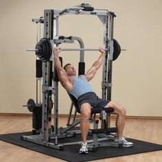 2c747355d4f PSM1442XS - Powerline Smith Gym - Body-Solid Fitness Gym Equipment Names