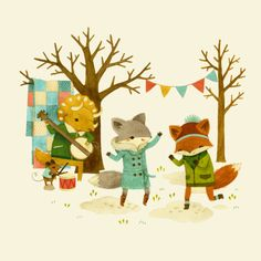 Three new Critters prints up in my Society6 shop! These are all...