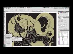 Illustrator Time Lapse: Drowning by Katie Hodgson - YouTube