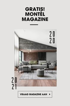 Vraag nu gratis het nieuwe Montèl magazine aan. Vol met wooninspiratie, tips en trends!  Dom, Wall Colors, Bungalow, Oversized Mirror, Rest, Magazine, Flooring, Living Room, Interior Design