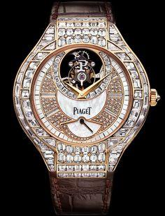 Pink gold Diamond Tourbillon Watch - Piaget Luxury Watch G0A36149
