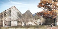 Forbes Massie / 3D Visualisation Studio / London - Work - Feilden Clegg Bradley Studios / Bedales School