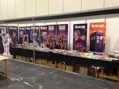 We're setting up at London's ExCeL for this weekend's MCM Expo. Come and visit us at our stand!