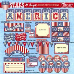 Fourth of July: FREE Fourth of July Printables
