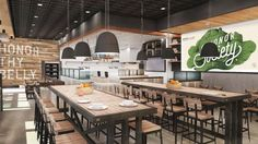 The Honor Society Handcrafted Eatery Blends Fine & Fast Casual Dining #food trendhunter.com