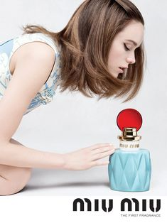 Stacy Martin For The first Miu Miu Fragrance. #MiuMiuParfum #MiuMuse