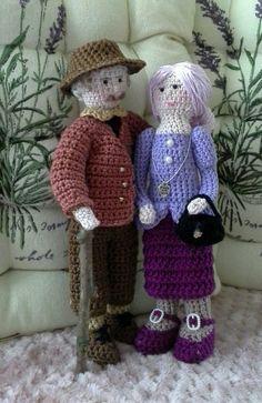 Opa en oma handmade by annie swart