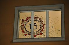 Adventsfenster aus seidenpapier das leben mit kindern - Adventsfenster gestalten ideen ...