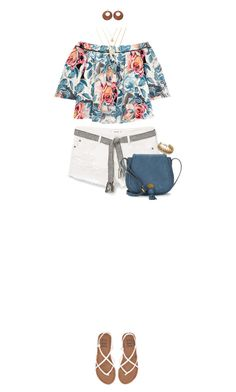 """""""White Shorts For Spring"""" by ittie-kittie ❤ liked on Polyvore featuring MANGO, Elizabeth and James, Billabong, Nanette Lepore, whiteshorts, SpringStyle and springfashion"""