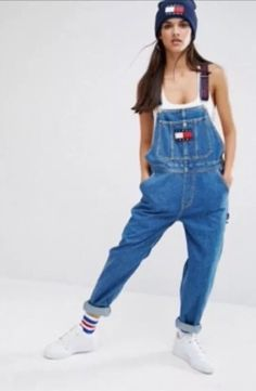 tommy hilfiger denim Dungarees Size Small | Clothes, Shoes & Accessories, Women's Clothing, Jeans | eBay!
