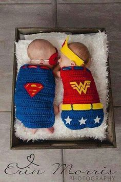 I KNOW it's going to be two boys, but we could always do superman and batman