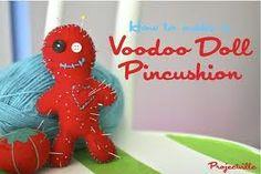 Voodoo Doll Pincushion DIY