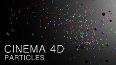 Cinema 4D Tutorial: Particles
