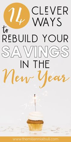 14 clever ways to rebuild your savings in the New Year. How to save money even when you're broke, how to rebuild your savings after spending a lot of money, and tips for saving money in places that you don't realize you're wasting! Best Money Saving Tips, Money Saving Challenge, Ways To Save Money, Make Money Blogging, Money Tips, Saving Money, Investing Money, Financial Tips, Financial Planning